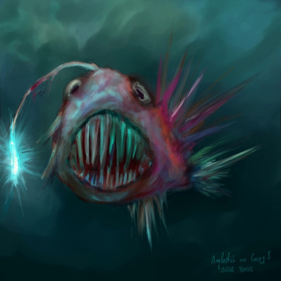 Anglerfish are Creepy - II